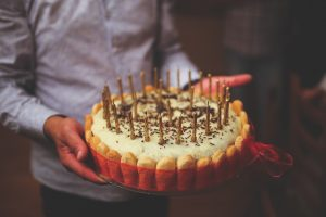 Why don't you bake a cake for someone today?